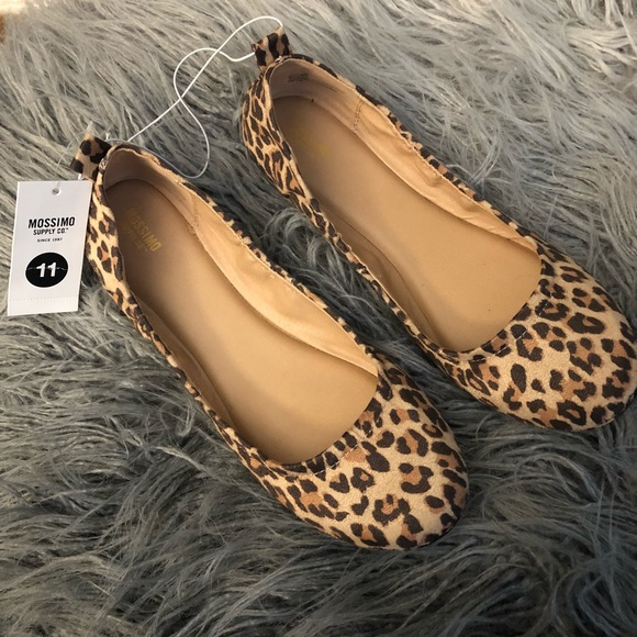 e6954925d692 Mossimo Supply Co. Shoes | Leopard Print Ballet Flats Mossimo Supply ...